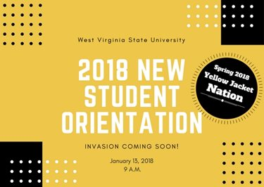 New Student Orientation 2018