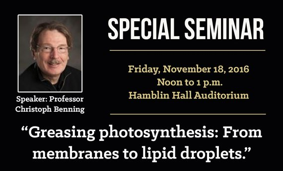 West Virginia State University to Host Seminar on Photosynthesis Friday, Nov. 18