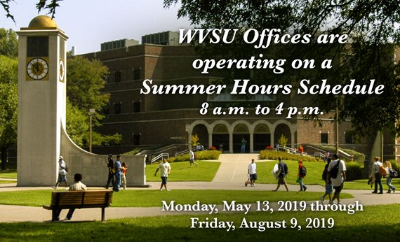 WVSU Summer Office Hours