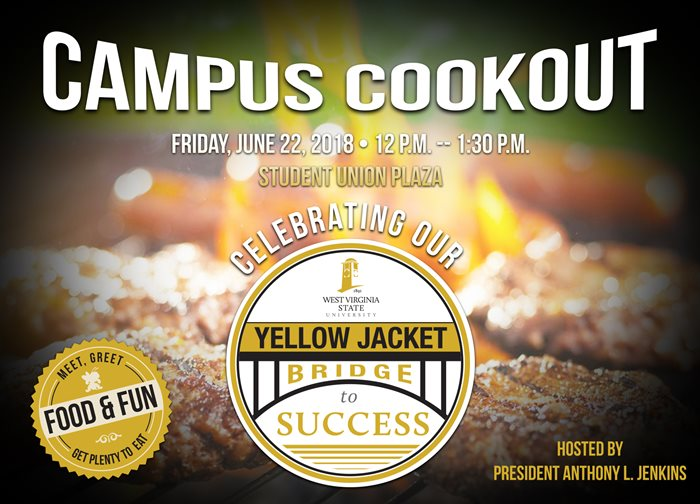 Campus Cookout Friday June 22