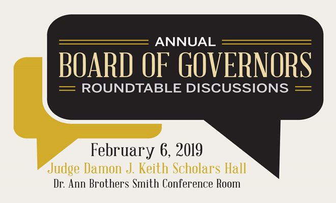 Board of Governors Roundtable Discussions
