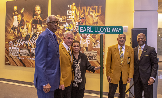 West Virginia State University Honors Earl Lloyd With the Naming of a Street