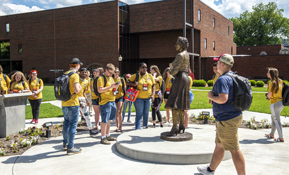 More than 100 high school seniors on campus this week for eighth annual GEAR UP U
