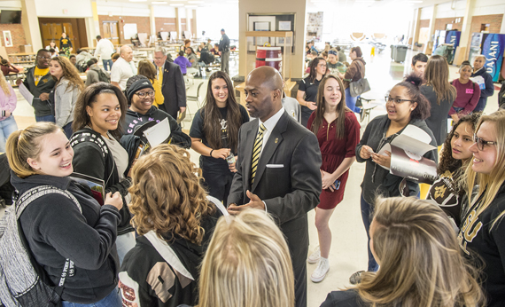 West Virginia State University Visits McDowell County High Schools