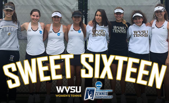 WVSU Women's Tennis Team Advances to Sweet 16 for Second Year in a Row