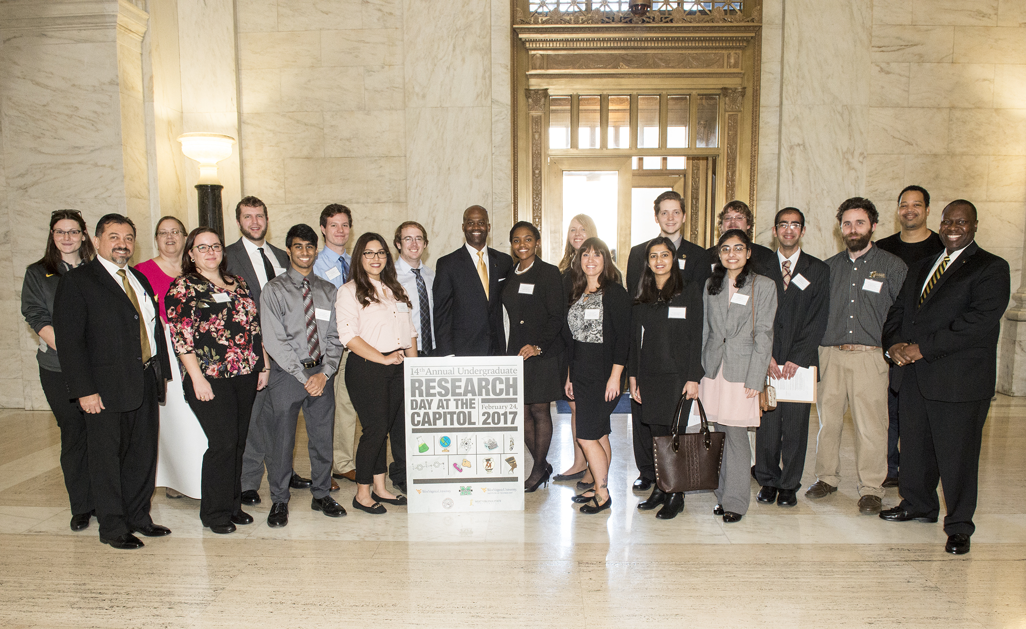 The 14th Annual Undergraduate Research Day at the State Capitol