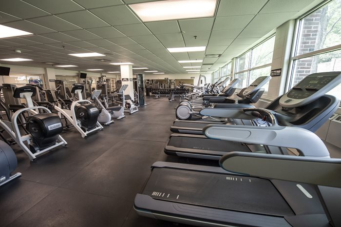 University union fitness center.