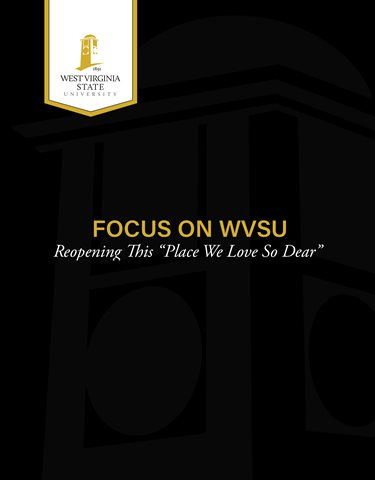Focus on WVSU Campus Reopening Plan