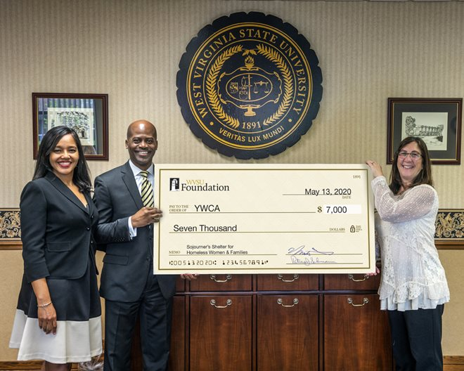 President and First Lady Jenkins Present Check for $7,000 to the YWCA of Charleston