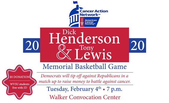West Virginia Memorial Legislative Basketball Game to be Held on Campus Feb. 4