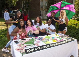 Members of Alpha Kappa Alpha Sorority Incorporated