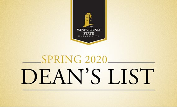 West Virginia State University Spring 2020 Dean's List Released
