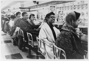 The Woolworth lunch counter protests.